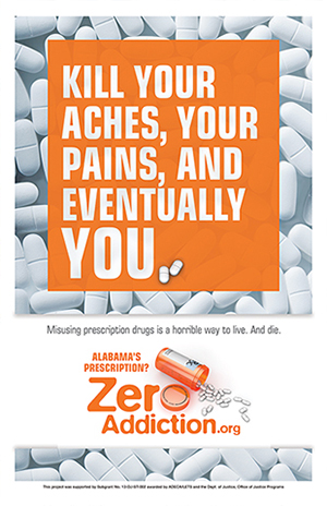 Zero Addiction Poster: Pain