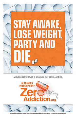 Zero Addiction Poster: ADHD